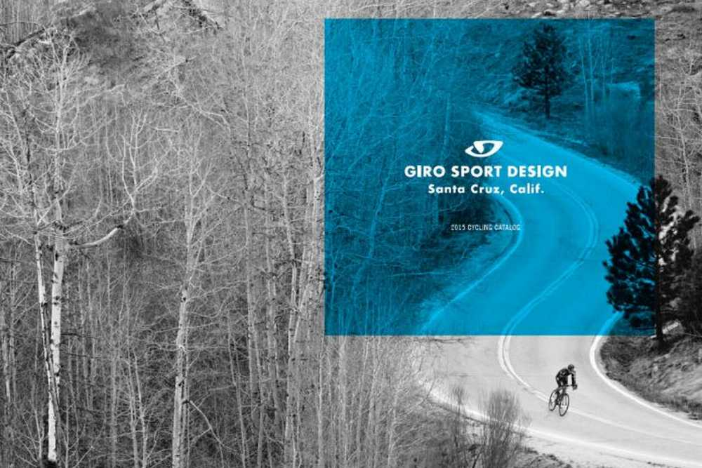 Catálogo cascos Giro 2015