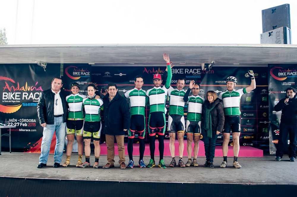 Ganadores primera etapa Andalucia Bike Race ABR 2015