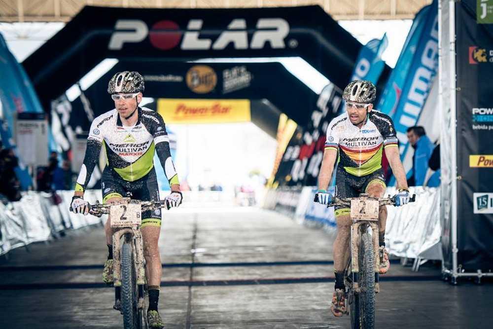 Hermida y Van Houts primera etapa de la Andalucía Bike Race 2015