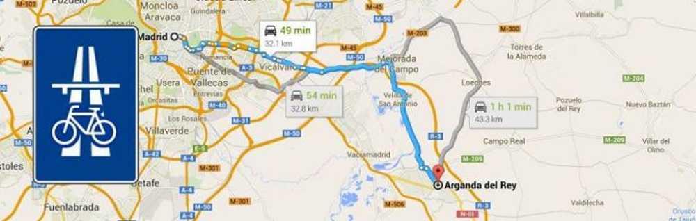 Marcha reivindicativa por una Autopista Ciclista Madrid-Arganda del Rey