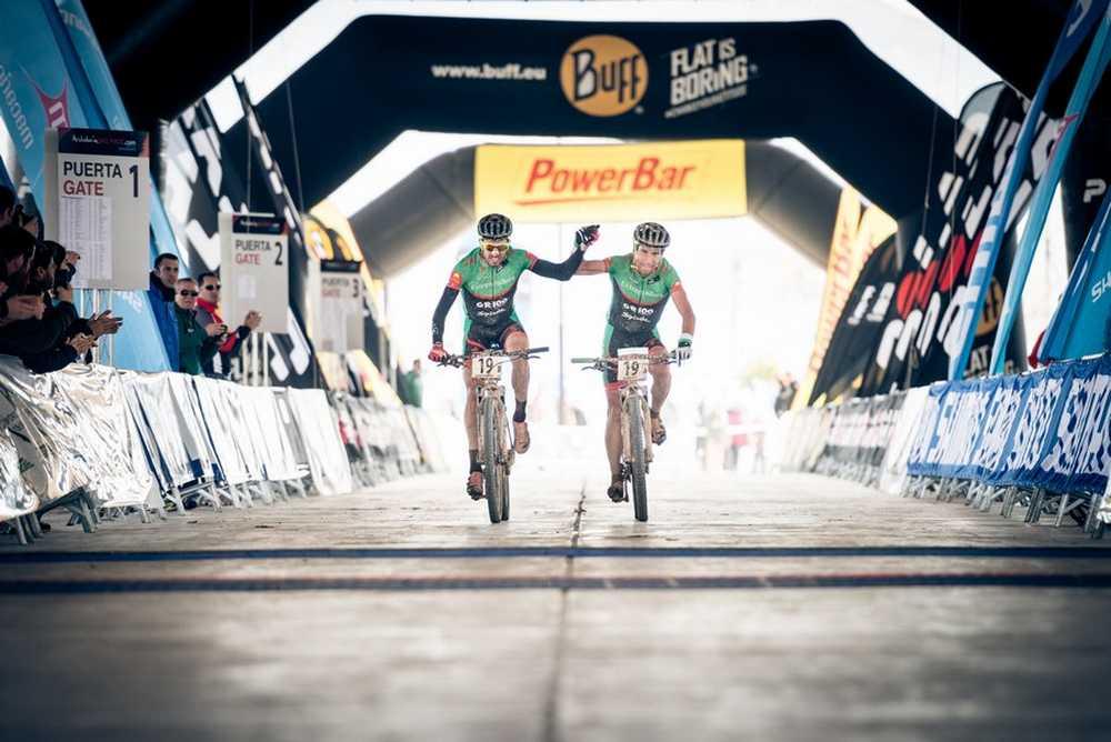 Pedro Romero y Luis Leao Pinto Andalucia Bike Race ABR 2015