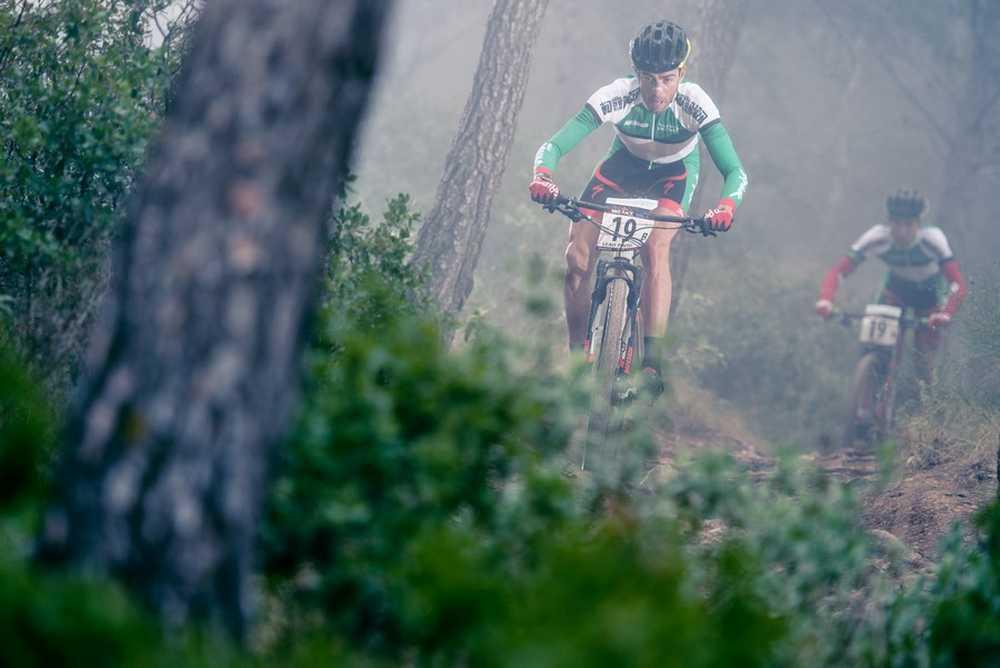 Pedro Romero y Luis Leoa Pinto segunda etapa ABR Andalucia Bike Race 2015