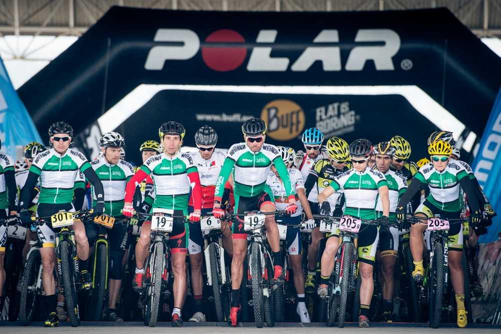 Salida segunda etapa ABR Andalucia Bike Race 2015