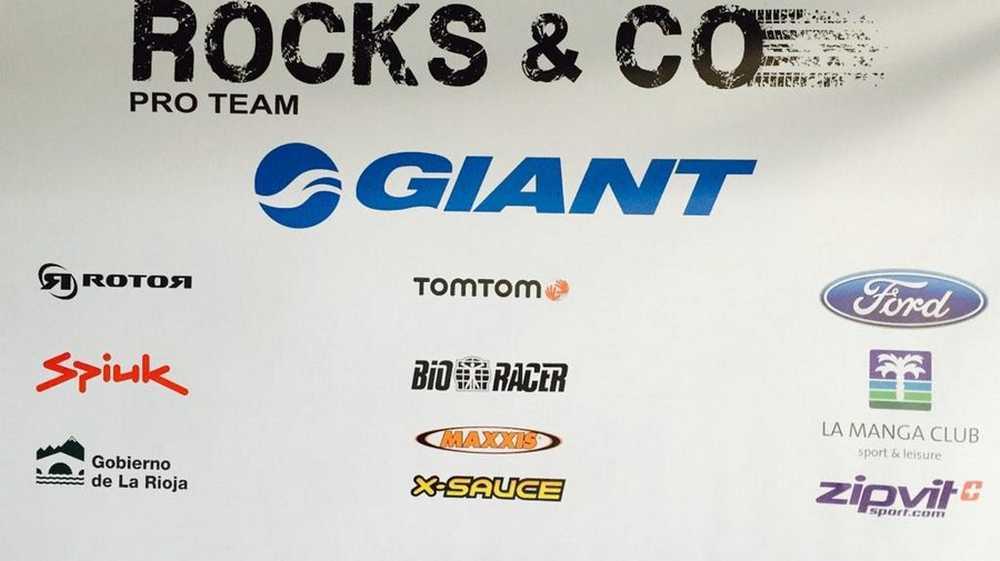 Sponsors Rocks & Co Team
