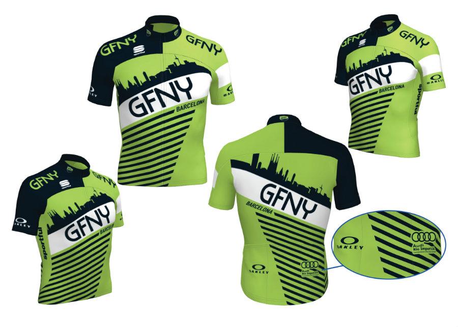 maillot GFNY Barcelona Sportful 2015