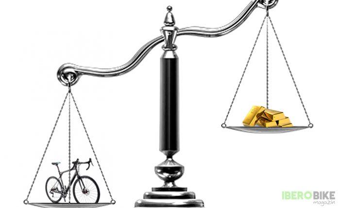 precio de una bicicleta