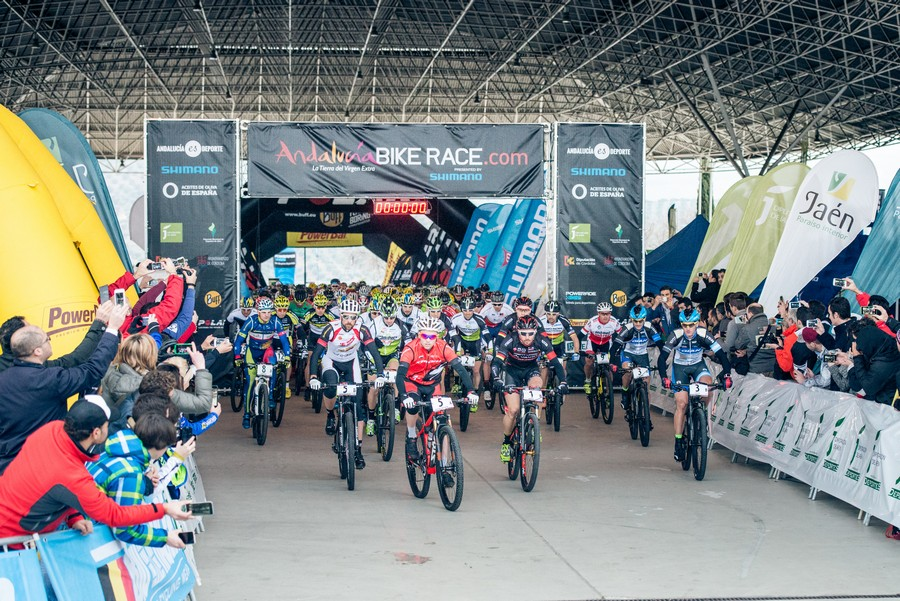 salida primera etapa Andalucia Bike Race ABR 2015