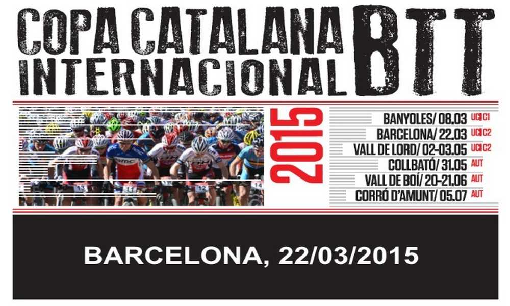Copa Catalana Internacional de BTT Barcelona 2015
