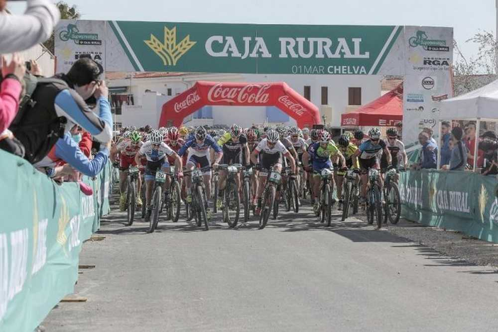 Salida Chelva Superprestigio Caja Rural-RGA MTB
