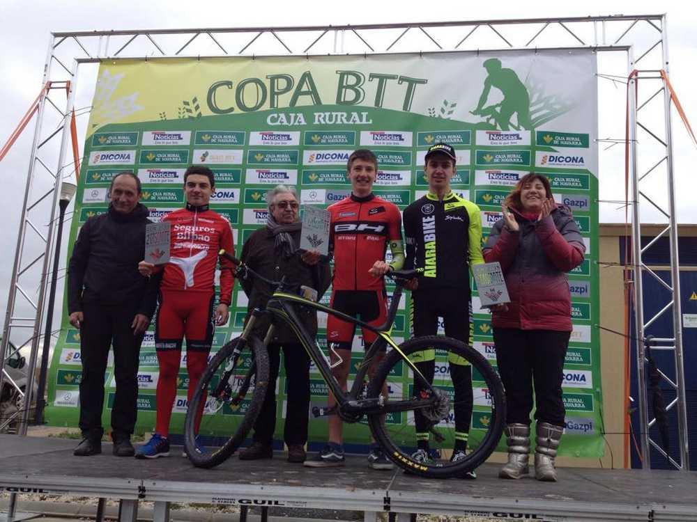 Vlad Dascalu podio Cascante