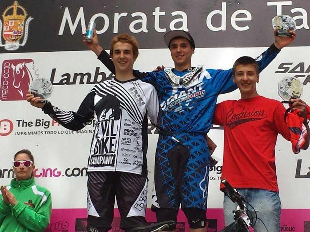 Vlad Dascalu podio Morata de Tajuña