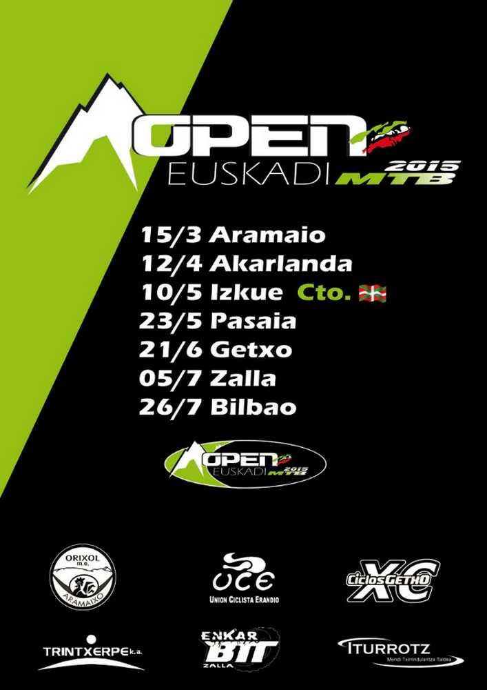 cartel Open de Euskadi XCO 2015