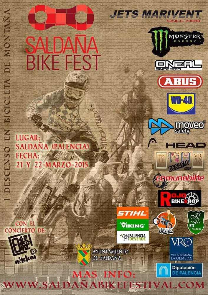 cartel saldaña bike festival 2015