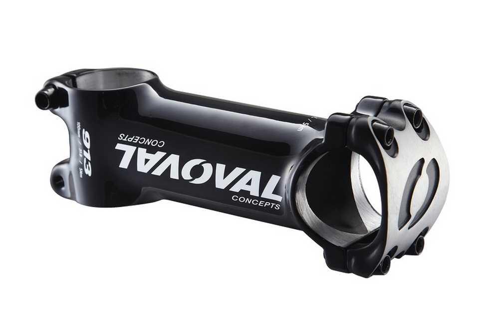 oval 913-Stem-31.8-6d-UD-110mm-Brushed-Silver-Cap