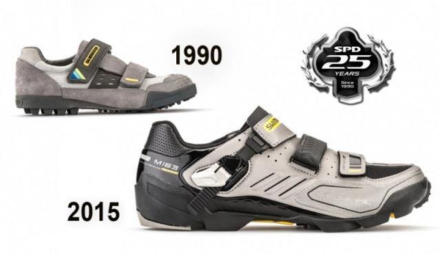 zapatillas Shimano M163 - 25 Aniversario SPD