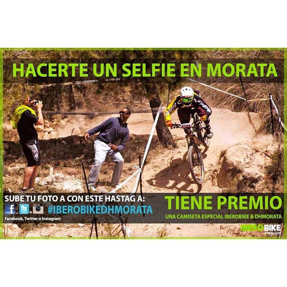Hacerte un selfie en Morata tiene premio. Sube tu foto con el hashtag y participaSuerte a todos los que participan en el sorteo y en la segunda prueba del Open de España@de Descenso