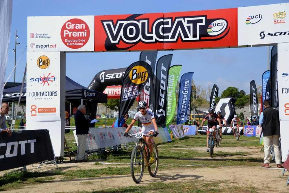 Adelheid Morath líder de la VolCat etapa vilanova-geltru meta