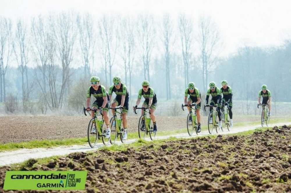 Cannondale Garmin Paris Roubaix
