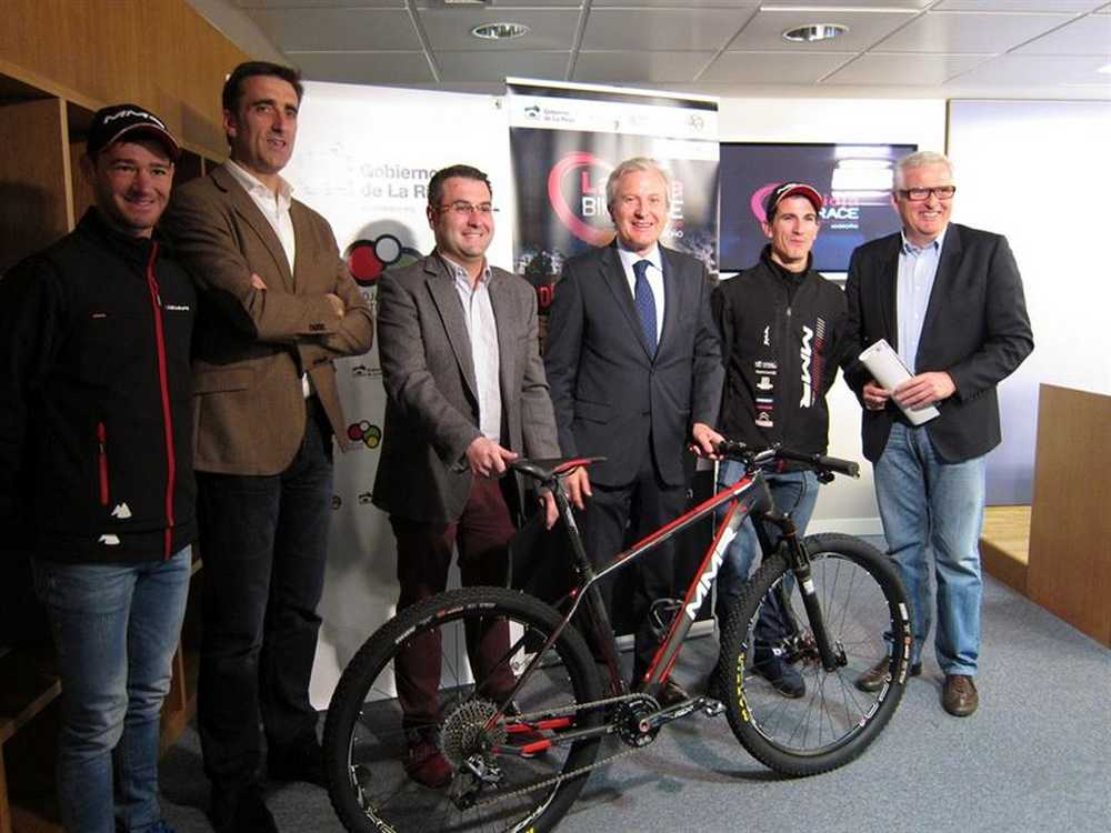 Carlos Coloma presenta La Rioja Bike Race 2015