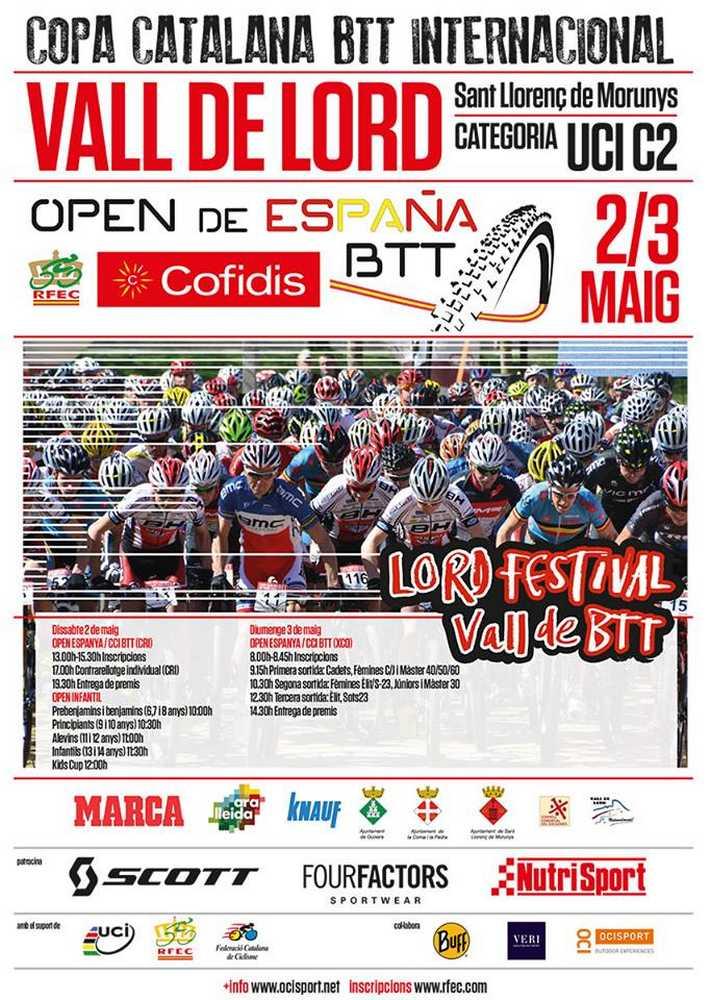 Open de España BTT XCO Cofidis vall de lord cartel