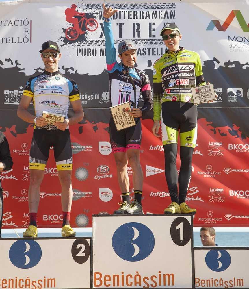 Podium masculino MediterraneanXtrem 2015