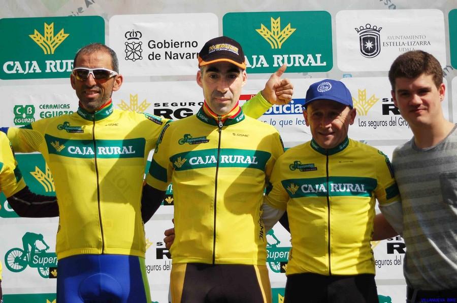 Julian Adrada podium Superprestigio Estela