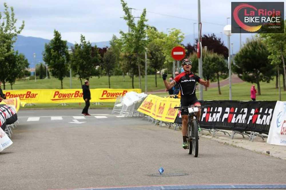 Carlos Coloma 1ª etapa de La Rioja Bike Race