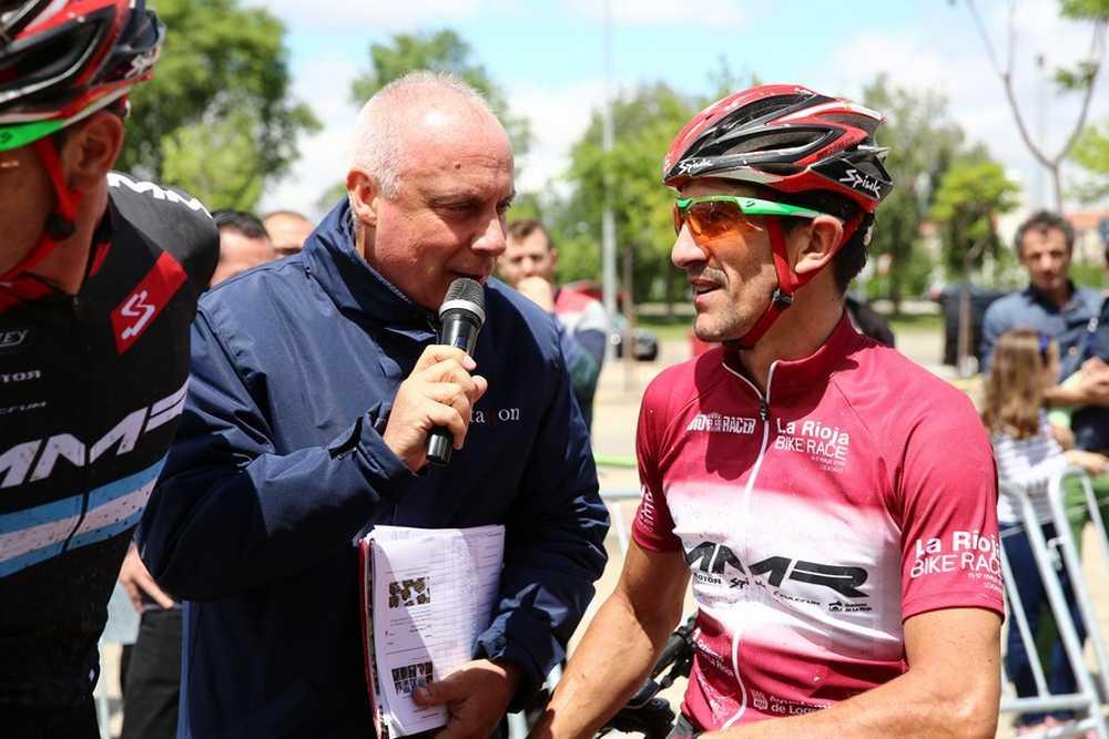 Carlos Coloma 2ª etapa de La Rioja Bike Race