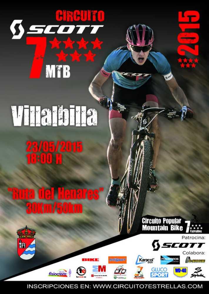 Cartel Circuito 7 Estrella Villalbilla
