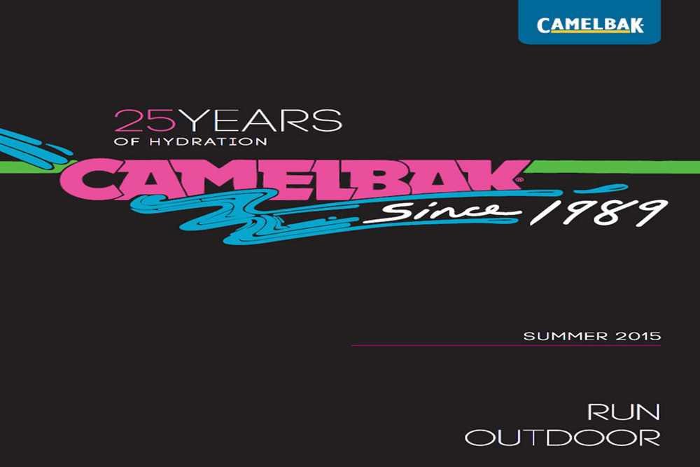 Catálogo Camelbak 2015