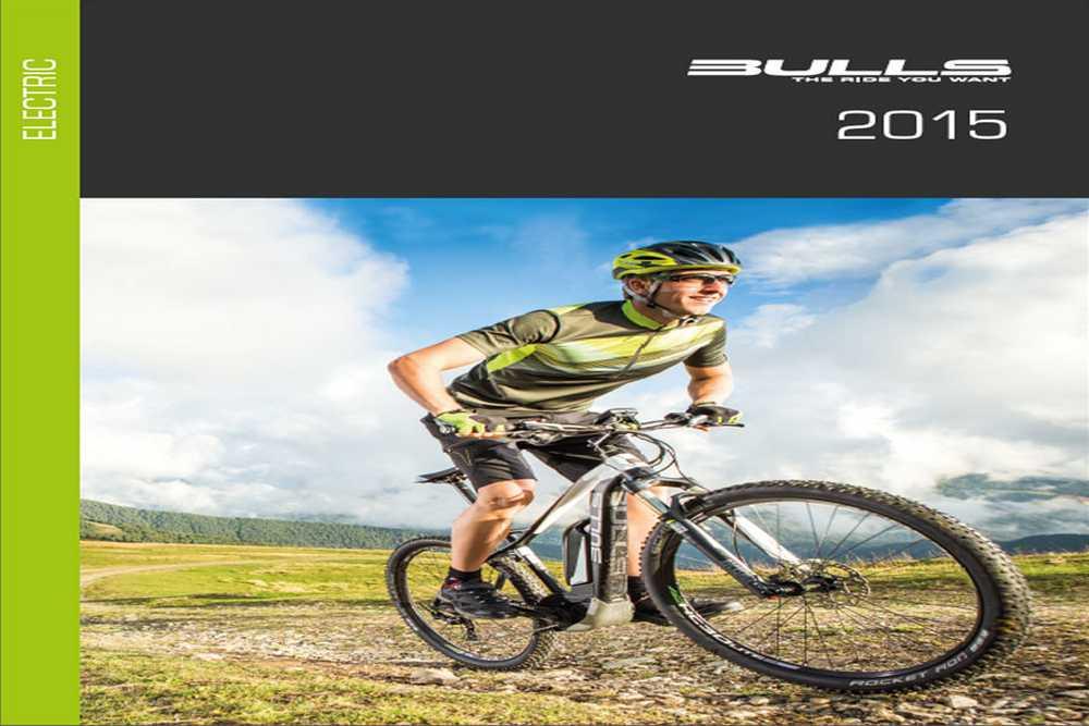 Catálogo bulls bikes electricas 2015