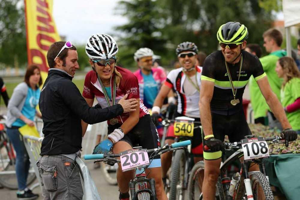 Claudia Galicia vencedora La Rioja Bike Race 2015