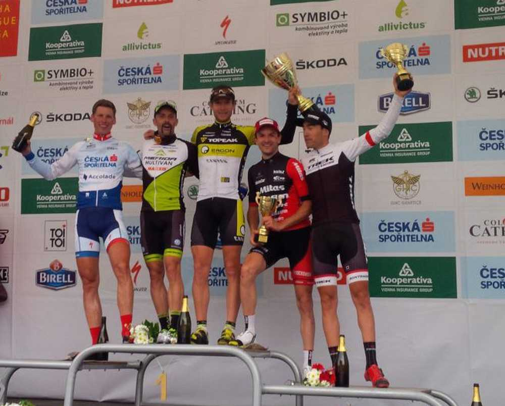 Hermida es 2º en la Prague Stairs Race