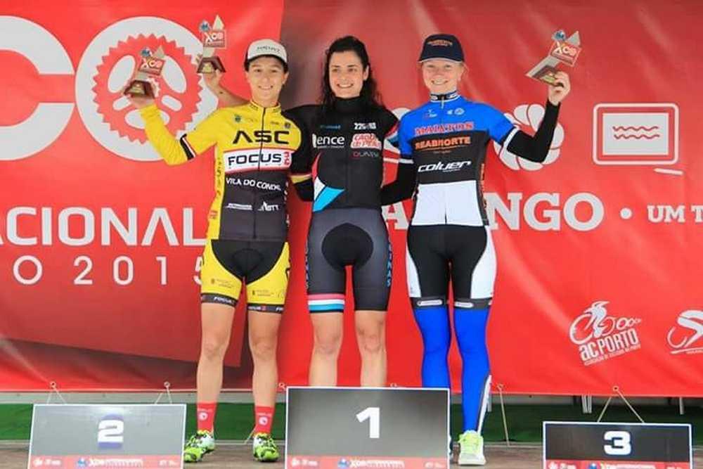 Lucía Vázquez Valongo podio