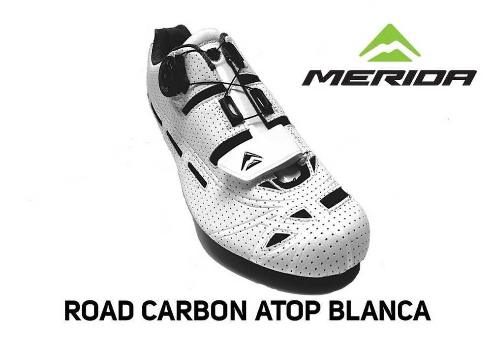 Merida ROAD-CARBON-ATOP-BLANCA
