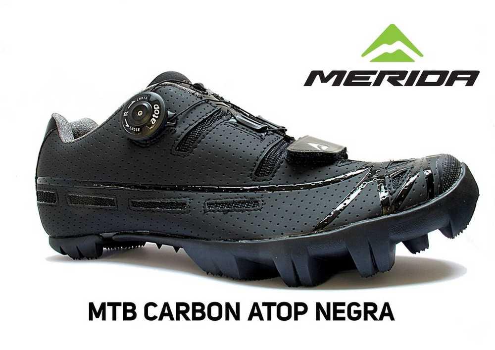 Merida ZAPATILLA-MTB-CARBON-ATOP-NEGRA