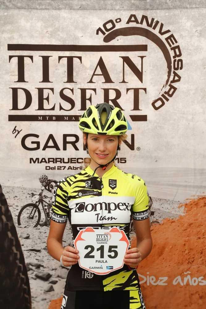 Paula Quiñones Titan Desert  EquipoCompex 01