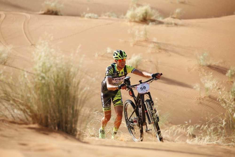Paula Quiñones Titan Desert  EquipoCompex 07