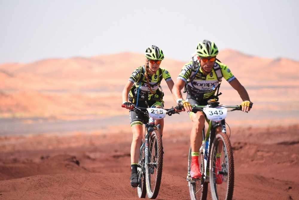 Paula Quiñones Titan Desert  EquipoCompex 21