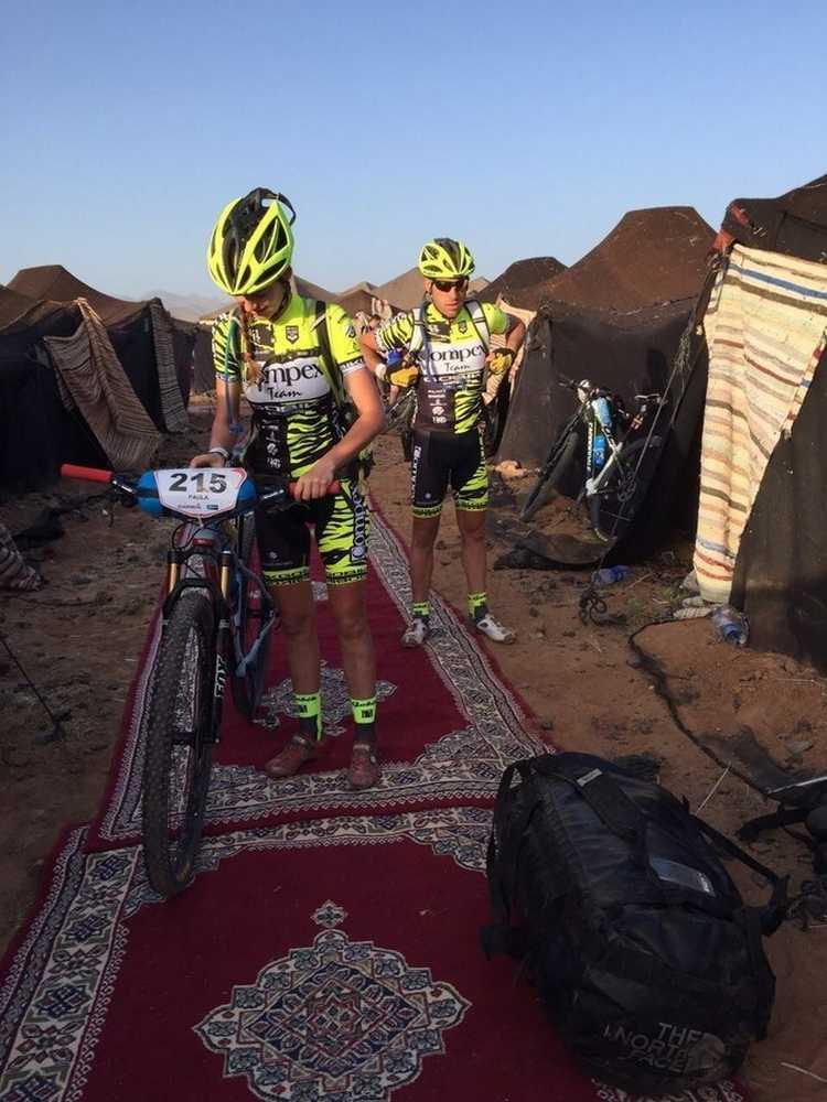 Paula Quiñones Titan Desert  EquipoCompex 38
