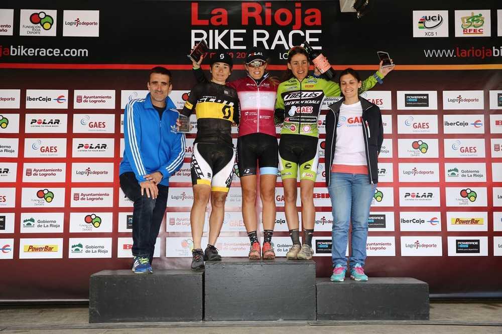 Podio Elite Femenino 2ª etapa de La Rioja Bike Race 2015 06
