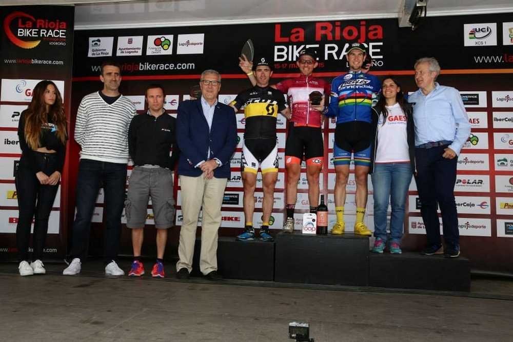 Podio Master 30 La Rioja Bike Race 2015