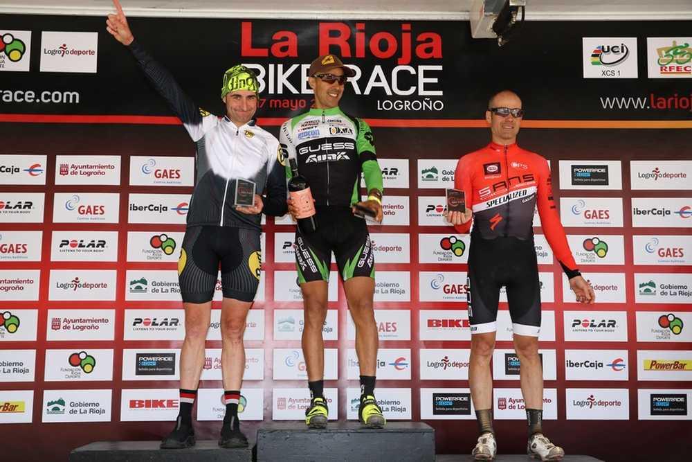 Podio Master 40 2ª etapa de La Rioja Bike Race 2015 04