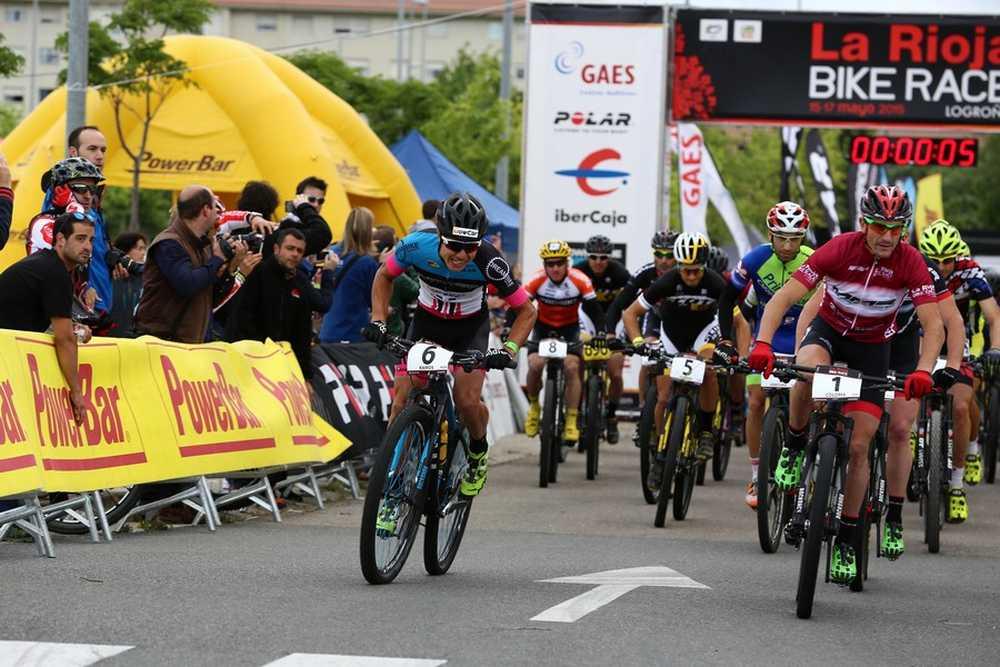 Salida 2ª etapa de La Rioja Bike Race 2015 01