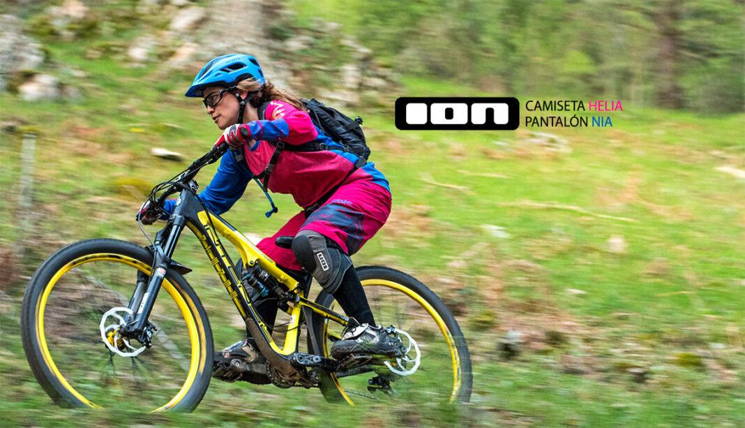 Test Chica Ion Bike Pantalon Nia Y Camiseta Helia Enduro Iberobike