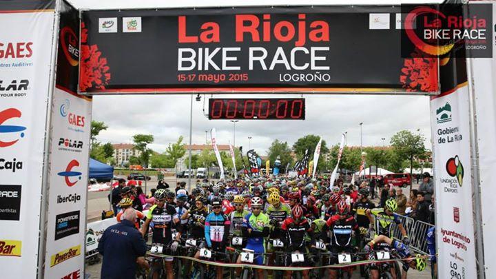 salida 1ª etapa de La Rioja Bike Race