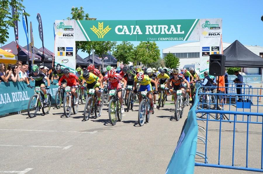 salida elite masculina Ciempozuelos Superprestigio Caja Rural-RGA MTB