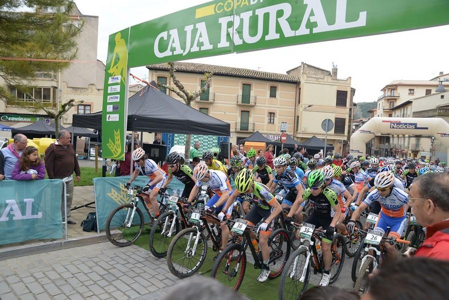 salida sanguesa Copa Caja Rural MTB