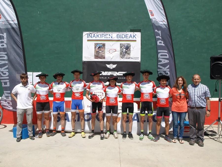 todos los campeones de Euskadi BTT XCO 2015