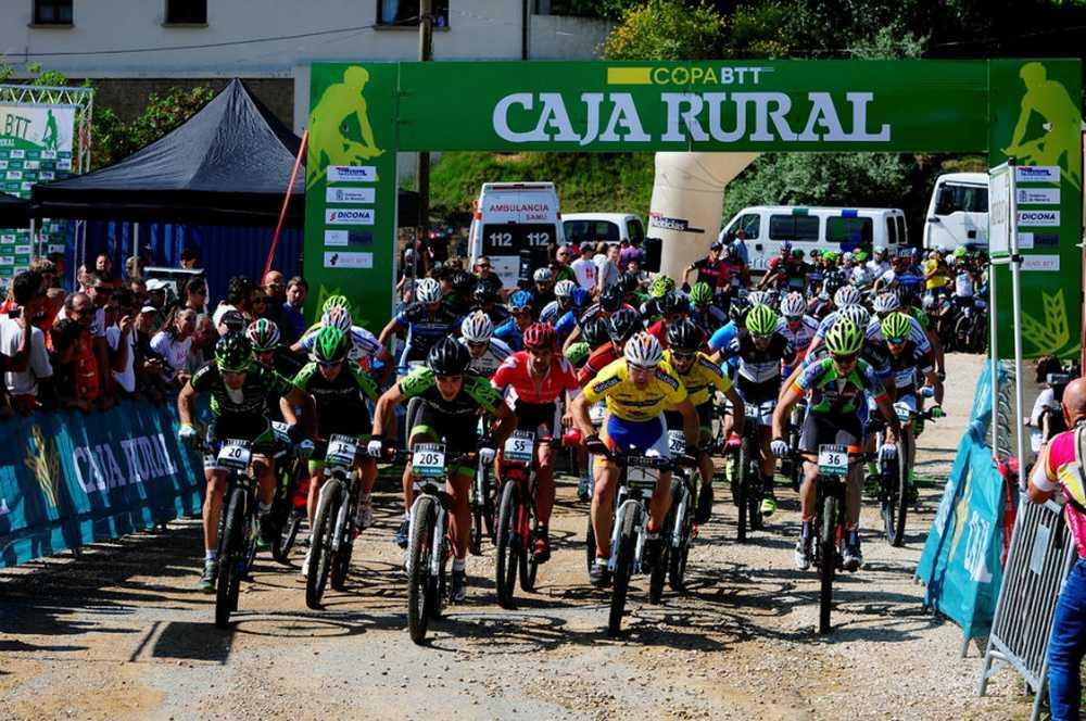 salida Copa Caja Rural BTT Tafalla